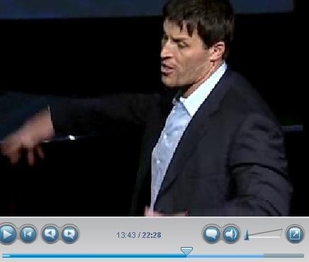 Anthony Robbins motivational speaker